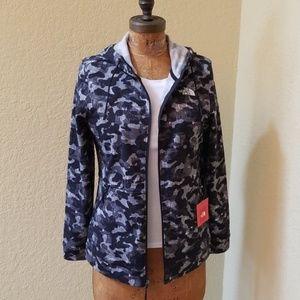 SOLD...NWT North Face Black/Grey Camoflauge Jacket